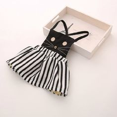 Casual baby girl clothing cat dress from BabyTopz. Saved to baby. My Baby Girl, Baby Kind, Baby Love, Baby Outfits, Kids Outfits, Cat Dresses, Kids Wear, Baby Dress, Just In Case