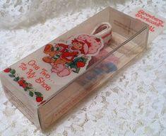 Strawberry Shortcake shoelaces