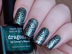 Born Pretty / Picture Polish Dragonfly