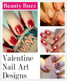 Valentine Nail Art Designs Make sure to check out http://www.thepolishobsessed.com for nail art, tutorials, giveaways and more!