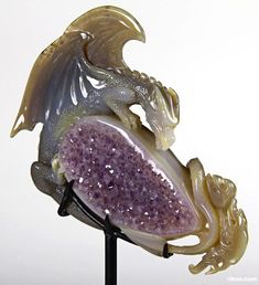 Agate Crystal The First Western Dragon