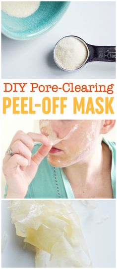 DIY Peel-Off Mask