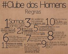 #Clube dos Homens