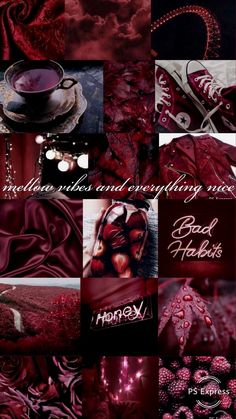 Is this burgundy aesthetics for you? = Ambition,Wealth,Power & F. Is this burgundy Burgundy Aesthetic, Aesthetic Look, Aesthetic Colors, Aesthetic Collage, Aesthetic Pictures, Aesthetic Pastel Wallpaper, Aesthetic Backgrounds, Aesthetic Wallpapers, Wallpaper Tumblrs