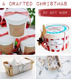 Crafted Christmas Gift Guide, Homemade Gifts, Christmas DIY, Tutorial, How-To, Christmas Crafts, Handmade Gift Ideas, Budget Gifts