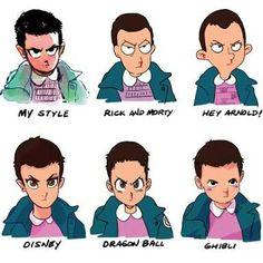 Tipos de Eleven