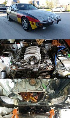 Porsche 924 Audi 4.2L V8