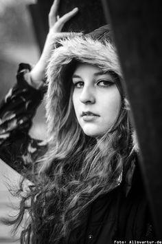 Model: Bloody Mary / Outdoor Fotoshooting Hamm / Foto: Allsvartur.de