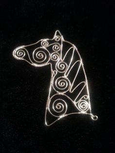 A lovely wire horse tutorial.