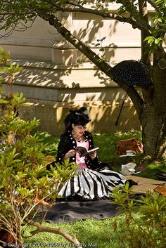 Inspiration for October Tea at Oakland Cemetery.
