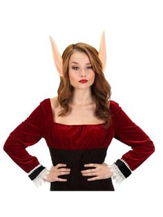 Check out Giant Foam Elf Ears Adult Headband from Wholesale Halloween Costumes