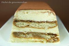 Semifreddo façon Tiramisù. Gâteau glacé