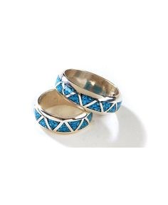 Turquoise Inlay Western Wedding Band - Sheplers reminds me of my grandmother Wedding Accessories, Wedding Jewelry, Cowgirl Wedding, Wing Earrings, Western Jewelry, Turquoise Rings, Princess Cut Diamonds, Ring Designs, Wedding Bands