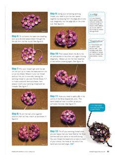 Floral Barrel Beads - 3/3 - Beading beads