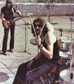 roger waters and nick mason (pink floyd)