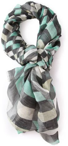 Sweet Pea Fashion Dark Grey Beaded /& Sequin Woven Polyester Fashion Scarf