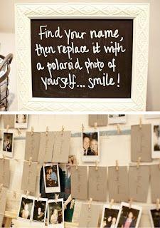 Wedding Polaroid Idea