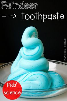 Minty Reindeer Toothpaste – Playdough To Plato Super fun Christmas science for kids! Make reindeer toothpaste! My kids will love this STEM activity! Christmas Activities For Kids, Science Activities For Kids, Preschool Christmas, Stem Activities, Kids Christmas, Preschool Science, Winter Activities, Advent Activities, Fall Preschool