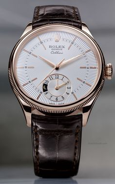 Rolex Cellini Dual Time #luxurywatches
