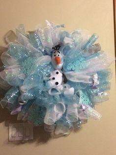 Frozen wreath.
