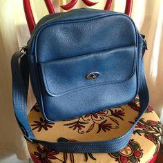 Blue retro travel tote $5 plus shipping