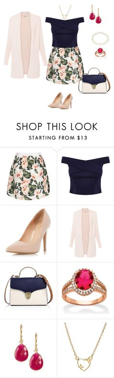 """Flower"" by tsurumi-mai on Polyvore featuring ファッション, Dorothy Perkins, Aspinal of London, Palm Beach Jewelry, Vanhi と 1928"
