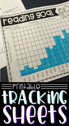 When progress monitoring, you need tracking sheets that will allow you and your students to see progress. These printable progress monitoring sheets are perfect for student data binders, RTI goals, IEP goals, and progress monitoring. Co Teaching, Teaching Special Education, Teaching Reading, Reading Fluency, Student Data Binders, Data Folders, Student Data Tracking, Classroom Organization, Classroom Management