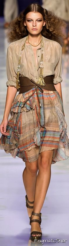 Etro Spring Summer 2010 Ready-To-Wear