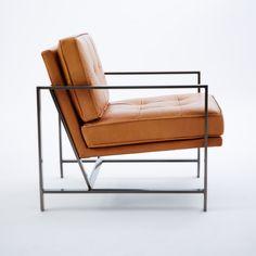Armchair, €1,409, West Elm.