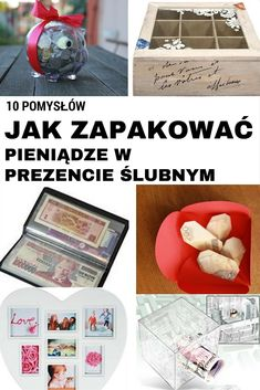 10 pomysłów jak zapakować pieniądze w prezencie ślubnym Adult Crafts, Diy And Crafts, Arts And Crafts, Wedding Favors, Wedding Events, Wedding Gifts, Weddings, Cool Gifts, Diy Gifts