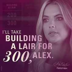 "S6 Ep14 ""New Guys New Lies"" - LOL, Hanna! You're so witty. #PrettyLittleLiars"