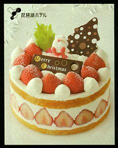 Japanese Short Cake. Christmas Cake Catalog by IZUMIYA.