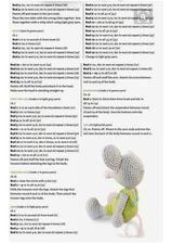 None Amigurumi Doll, Amigurumi Patterns, Crochet Patterns, Crochet Bear, Crochet Dolls, Amigurumi For Beginners, Diy Toys, Free Pattern, Applique