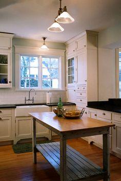 bungalow kitchen   house style & design   pinterest   bungalow