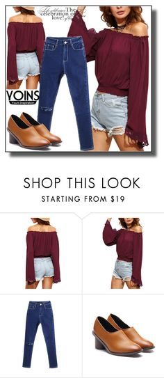 """YOINS-II/5"" by dzemila-c ❤ liked on Polyvore featuring yoins, yoinscollection and loveyoins"