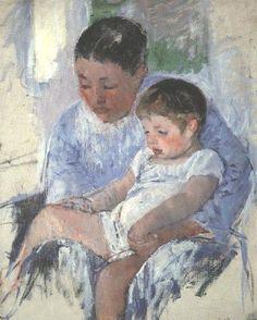 Mary Cassatt présentée aux enfants