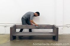 HomeMade Modern DIY EP70 Outdoor Sofa Step 8 …