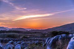 An evening landscape of the karst high plain, Hiraodai, Kitakyushuカルスト台地の夕景 ~平尾台~ - GMT foto @KitaQ