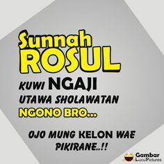Quotes Lucu, Doa Islam, Funny Messages, Alhamdulillah, Islamic Quotes, Sarcasm, Life Quotes, Album, Humor