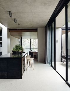 INSPIRATION: a polished modern kitchen, welcoming natural light | est living