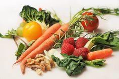 Cenoura, Couve, Nozes, Tomate