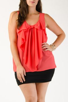 Plus Size Tops - Trendy and stylish tops for the curvy style.   G-Stage Clothing − G-Stage $13.99