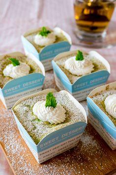 These pandan hokkaido chiffon cupcakes are soft, fluffy and a huge joy to eat.
