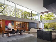 The Malvern House is an addition and renovation to an existing Edwardian style house. Located in an intact heritage precinct, the front of . Hinsdale House, Malvern House, Build My Own House, Glass Pavilion, Clerestory Windows, Home Libraries, Home Additions, Best Interior Design, Home Bedroom