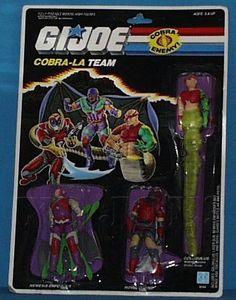 Cobra-La: Nemesis Enforcer, Royal Guard & Golobulus G.I. Joe ARAH Vintage Action Figures- YoJoe Archive