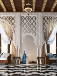 Luxury Moroccan Bathroom Design With Exotic Extravagance Moroccan Design, Moroccan Decor, Moroccan Style, Moroccan Lanterns, Ethnic Style, Islamic Architecture, Interior Architecture, Interior Exterior, Interior Design