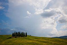 Oásis. Região da Toscana, Itália.  Fotografia: efilpera no Flickr.