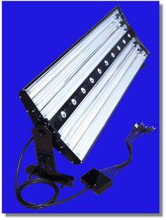 """Finnex 48"""" LED/T5 Combo Aluminum Light Fixture 4 x T5 + 21 x LED ..."""