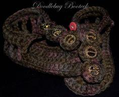 Crochet Baby Summer Sandals Summer Sandals by Doodlebugphotoprops, $15.00