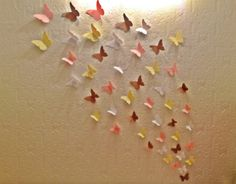 Made To Order 3D Butterfly Wall Art by MonAmiePaperie on Etsy, $14.44